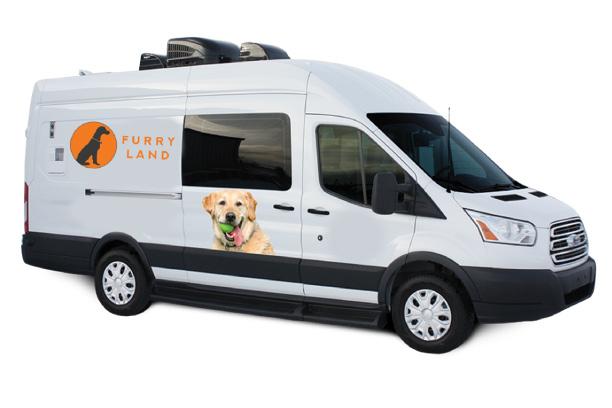 Furry Land Van